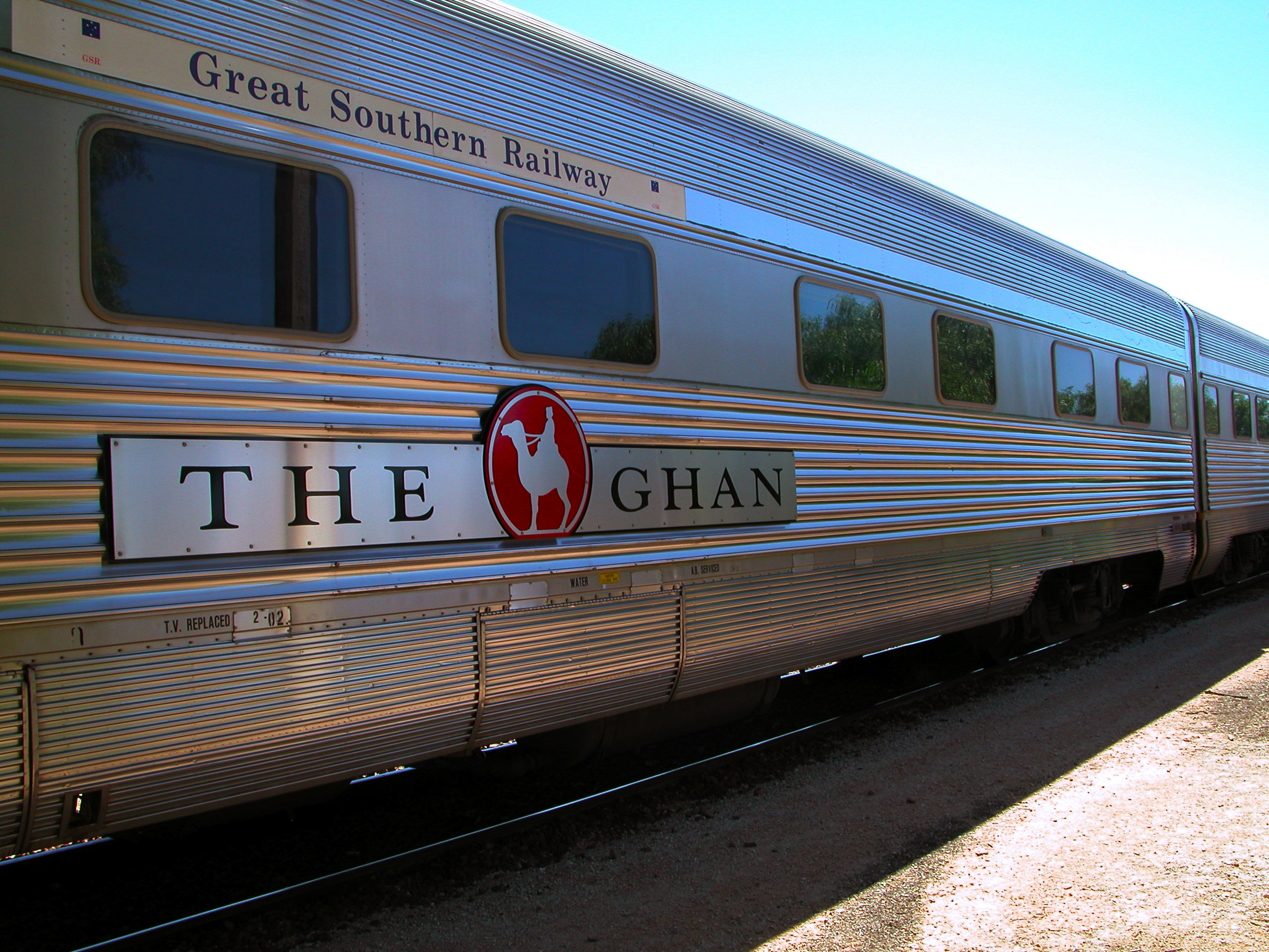 The_Ghan_train
